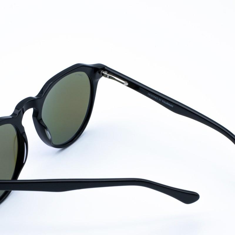 Gafas de sol Glossy Black Ocean yourway