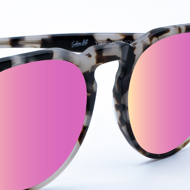 Gafas de sol marmol granito Grey Rocks Rose yourway